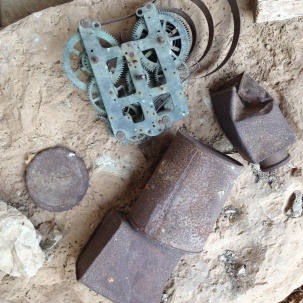 Old junk found at Last Chance Canyon (Photo: Ben Alford)